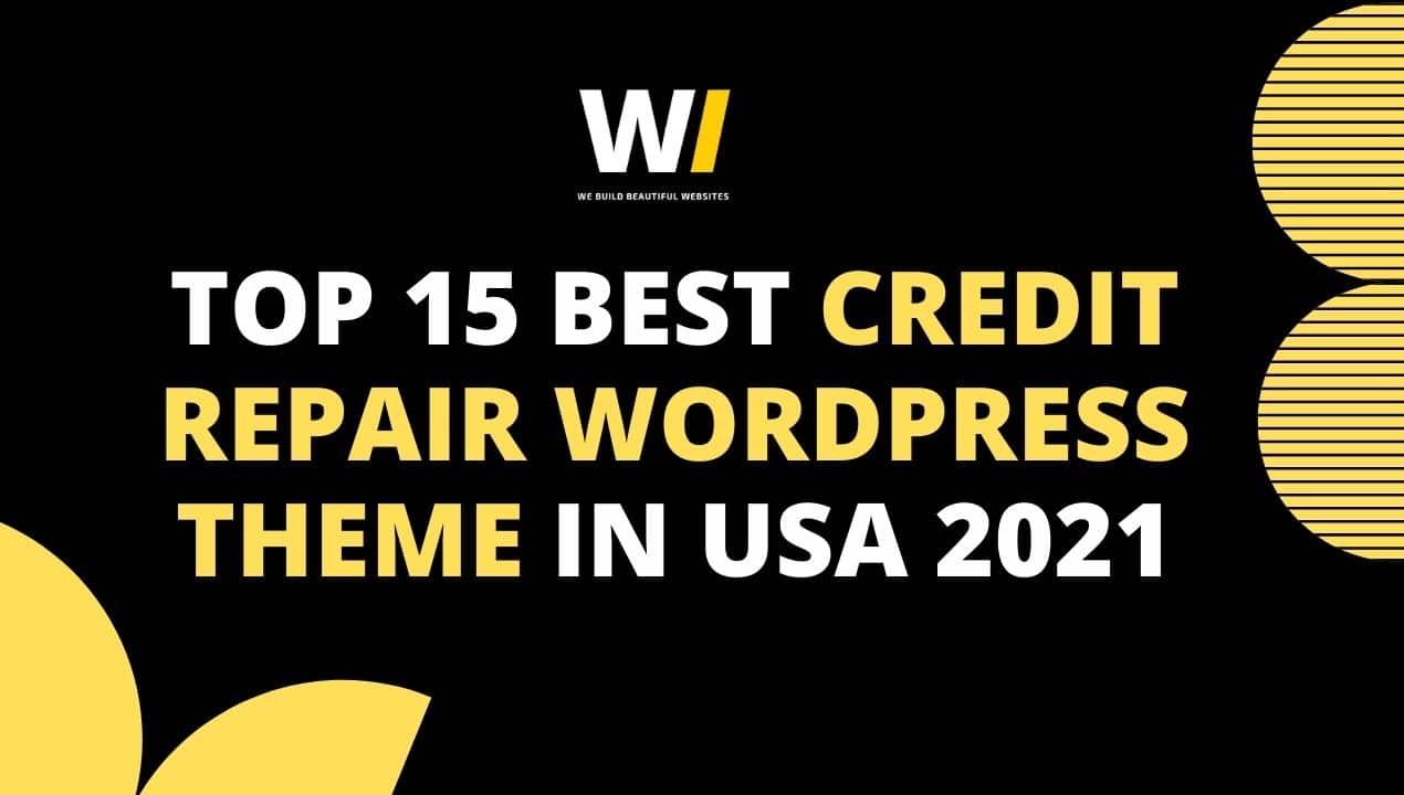 Credit Repair WordPress Theme