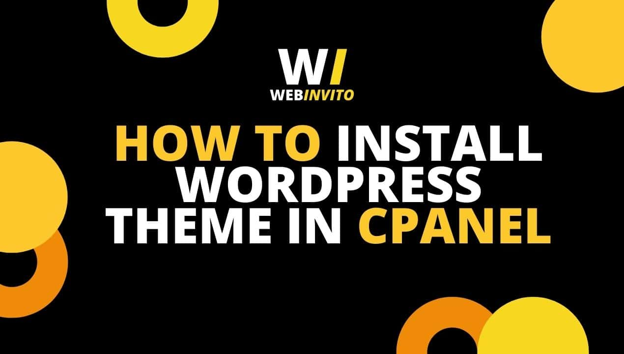 How to Install WordPress Theme in Cpanel